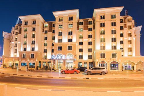 هتل آوانی دیره